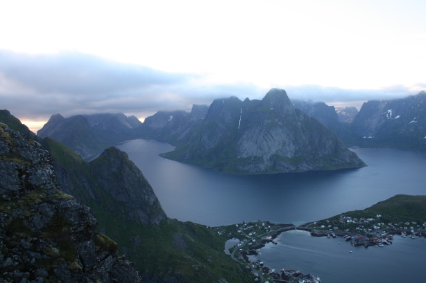 The view from above Reine