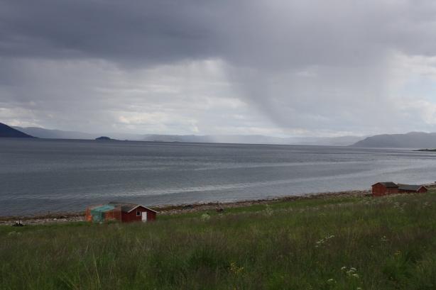 Rain over Alta