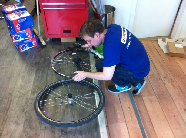 Bike repairs in Hammerfest