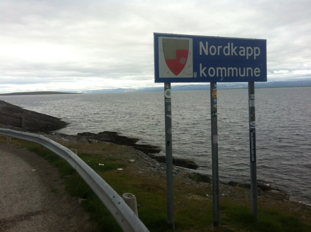 Crossing into Nordkapp county