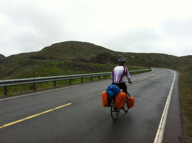 Cycling up the high plains