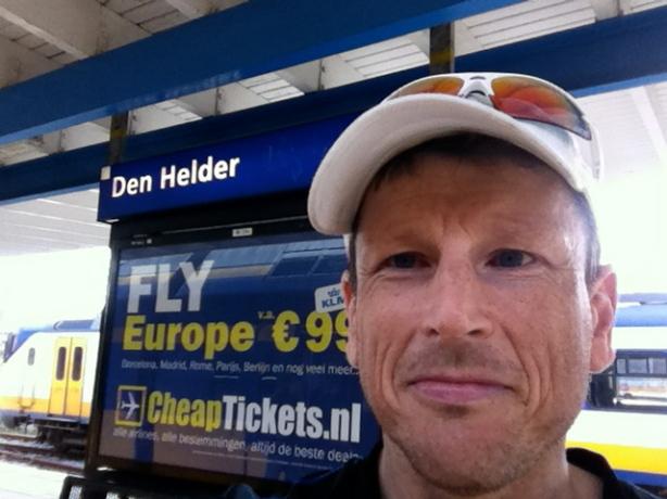 Arrival in Den Helder