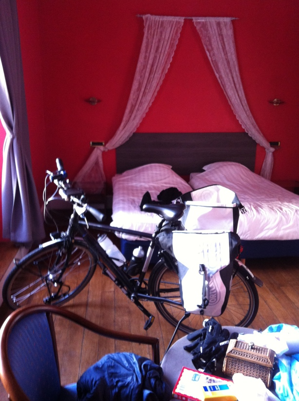 Bedroom with my bike