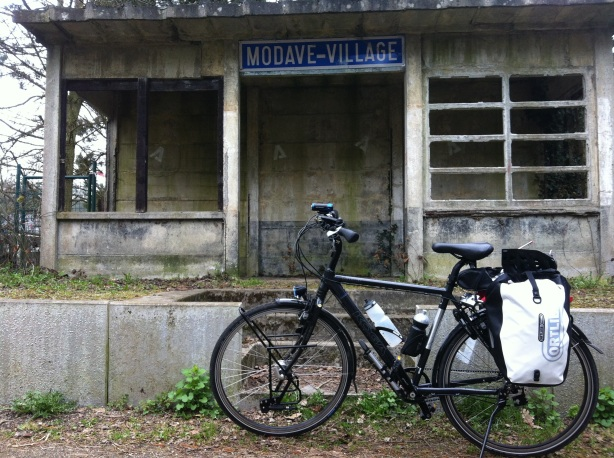 Abandoned train station on Ligne 126