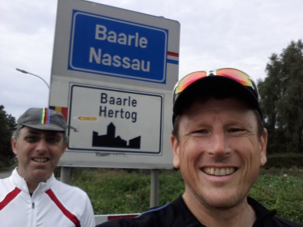 Islands of Belgium inside of islands of the Netherlands, inside of islands of Belgium. The fractal border of Baarle Hertog / Baarle Nassau.