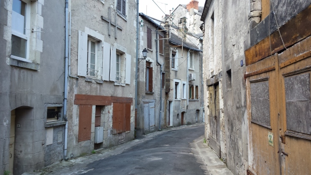 Old town at Châttilon