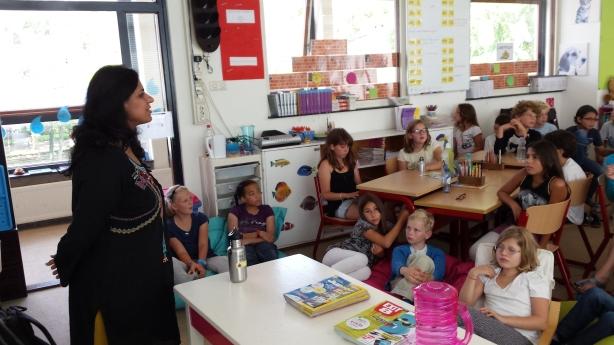 Mansi at Willemsparkschool for Green Pedals