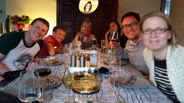 Welcome dinner in Schimmert