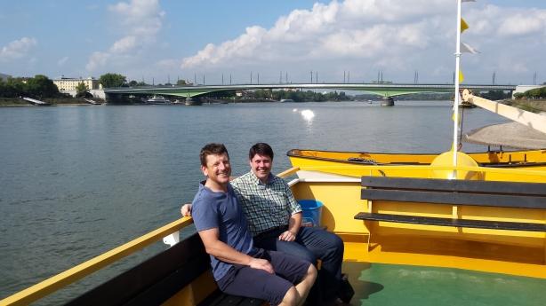 The ferry in Bonn