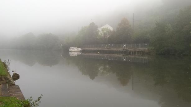 Misty morning in Limburg