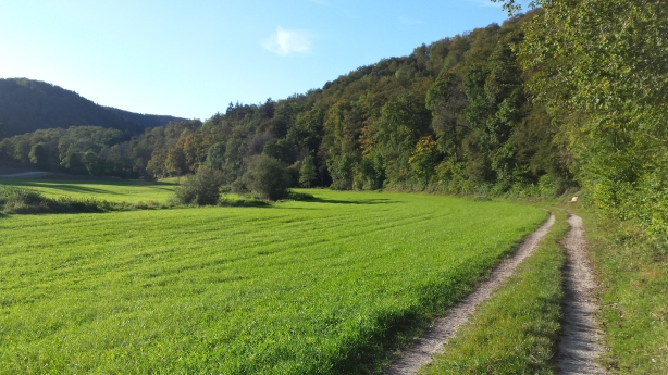 Climbing to Albstadt