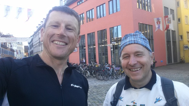 Farewell to Stefan in Konstanz