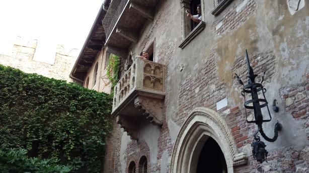 Juliette's balcony
