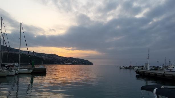 Sunset in Koper