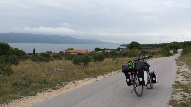 A Croatian bike path