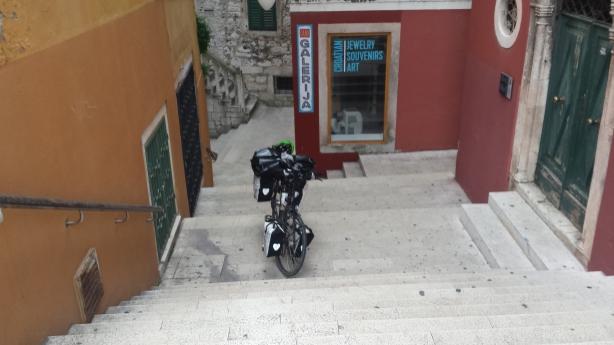 Drahtesel in Šibenik