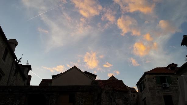 Sunset in Split