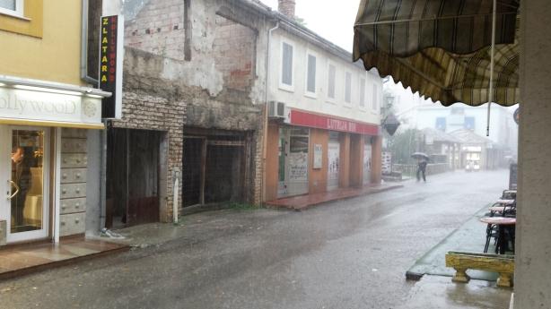 Rain in Mostar