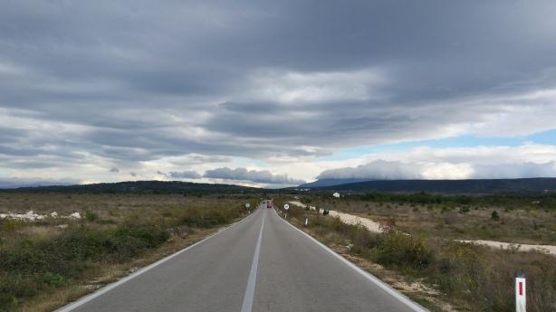 On the plains in southern Bosnia Herzegovina