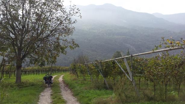 On the way to Lake Garda