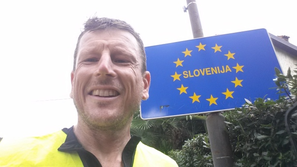 Border crossing, Slovenia