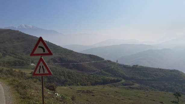 On the road to Kukës