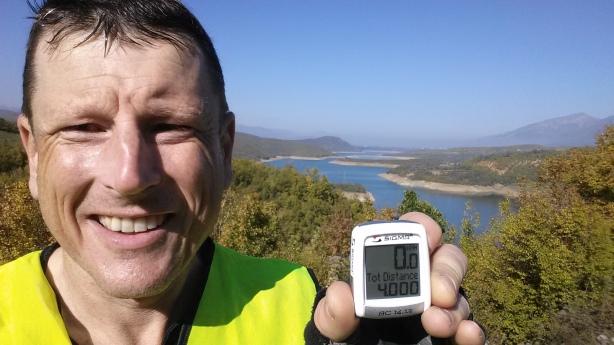 The 4000km mark