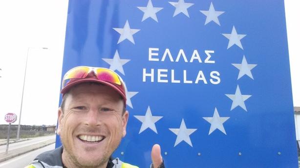 Entering Greece