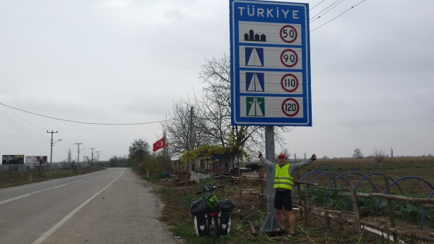 Entering into Turkey