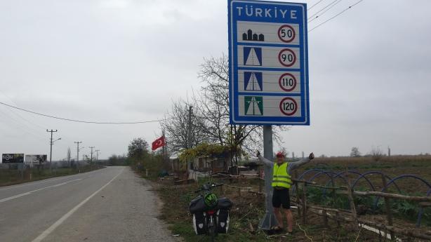 Entering into Turkey