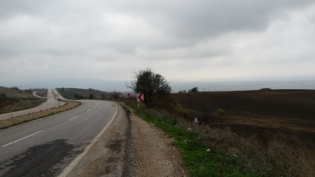 The grey road to Biga