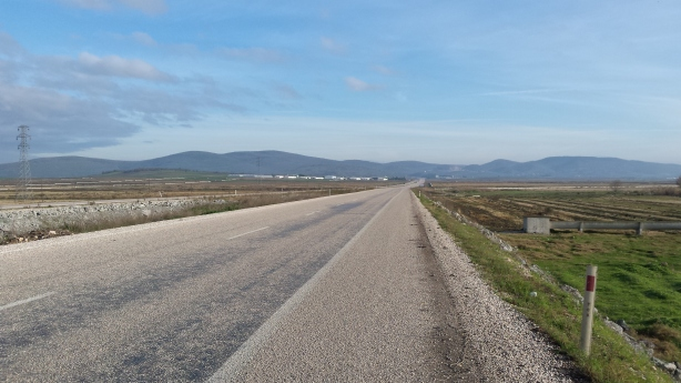 The road from Gönen