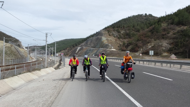 Cycling to Eskesehir
