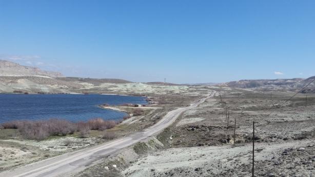 Chalky landscape