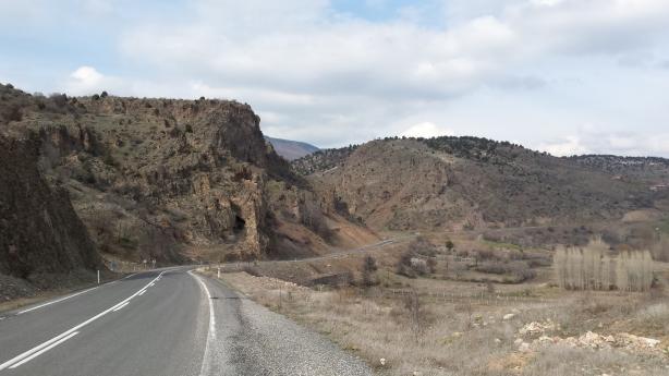 Road to Kızılcahamam