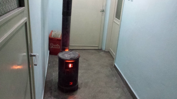 Wooden stove