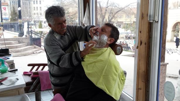 A shave in Kastamonu