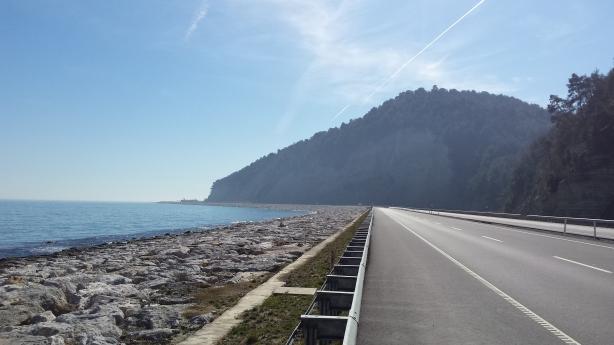 Black Sea coast road