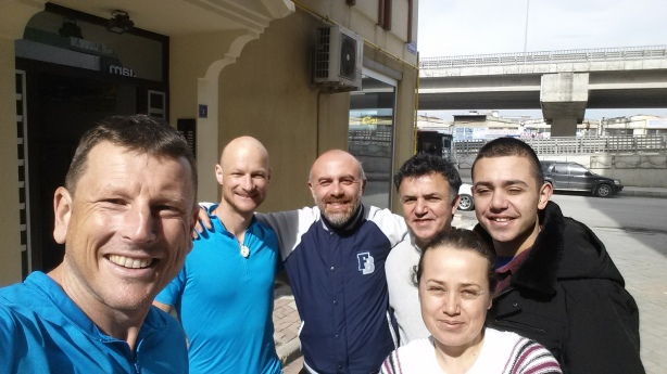 Our lovely hosts in Samsun