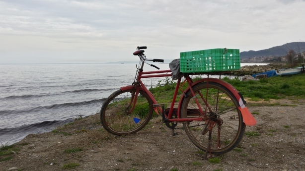 Bike on the Black Sea