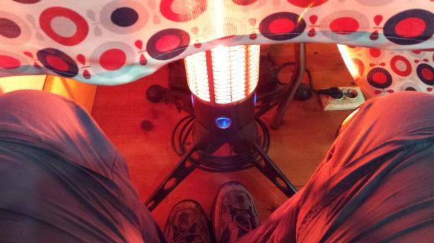 Legs thawing