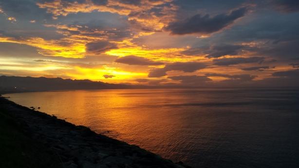 Sunset near Giresun