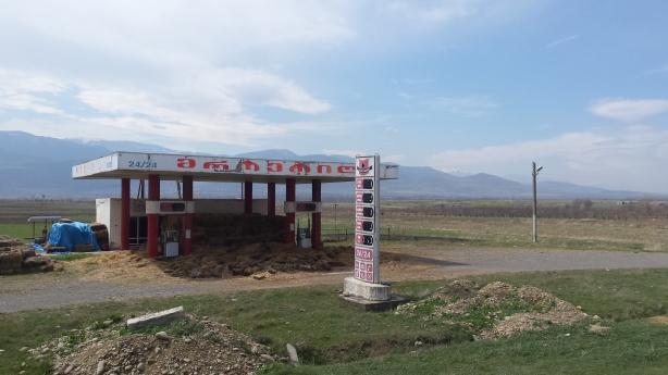 Hay petrol station