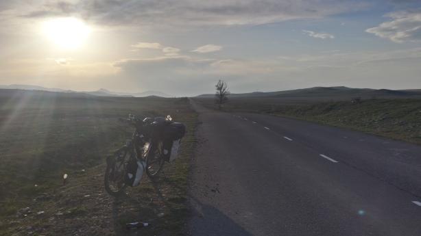 Plains before Tbilisi