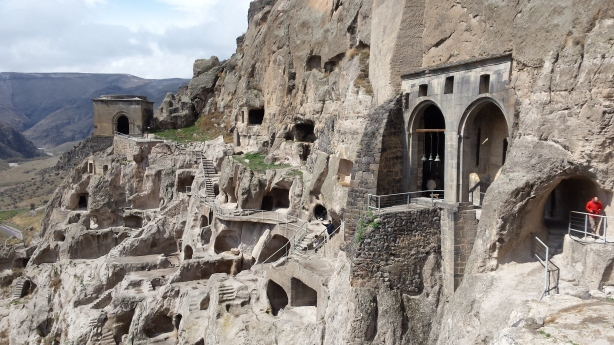 Cave city at Vardzia