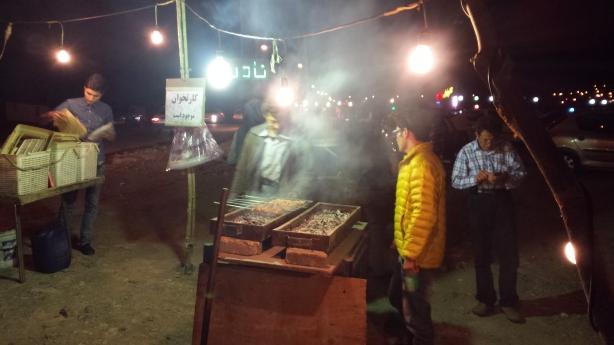 Dinner in Zanjan