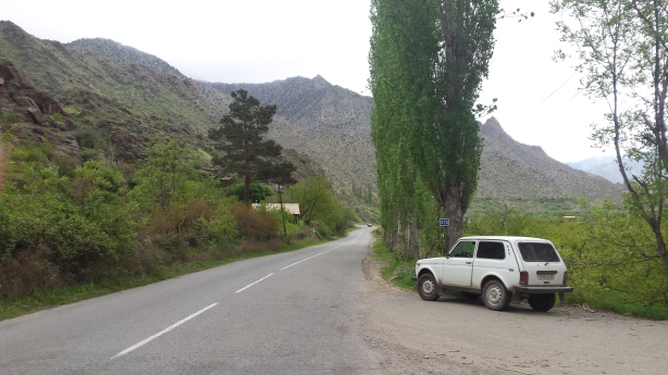 Meghri valley