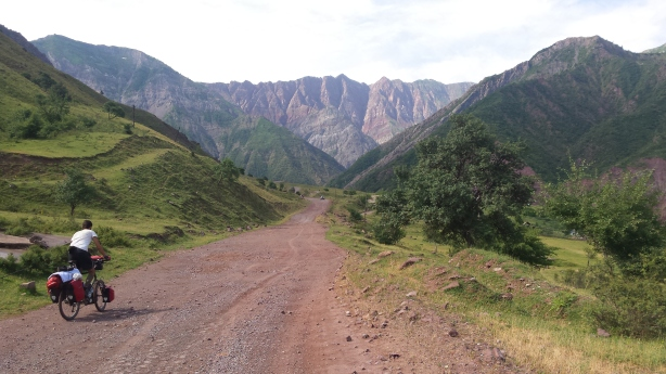 The road to the Pamirs