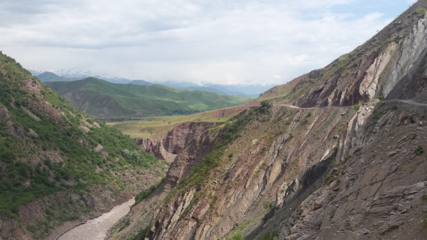 The road to Khorog