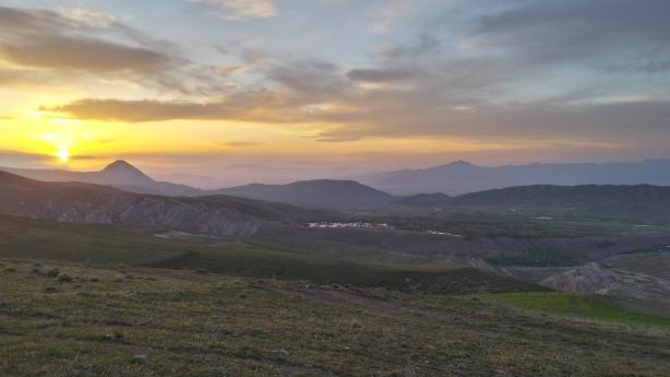 Sunset at Marand